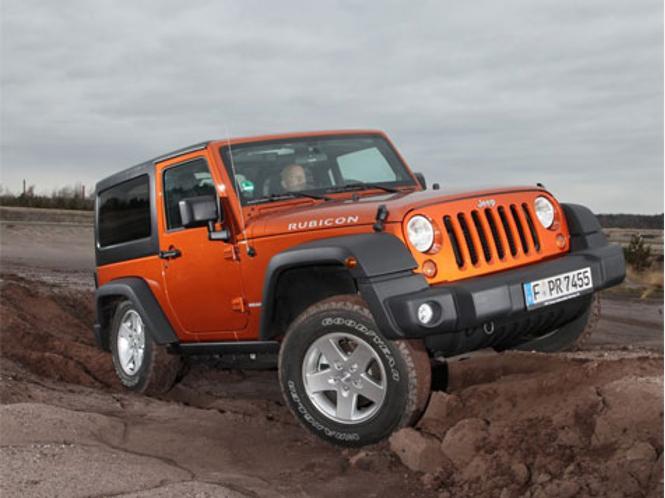 Bilder vom Jeep Wrangler und Jeep…