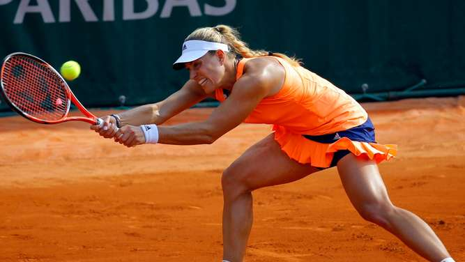 Roland Garros, French Open, Angelique Kerber