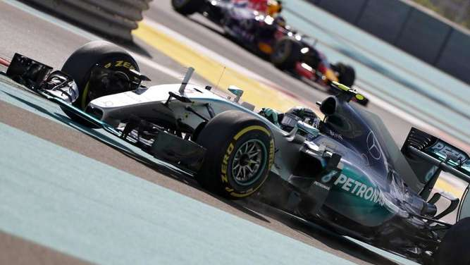 Nico Rosberg ist am Saisonende gut in Form. Foto: Ali Haider
