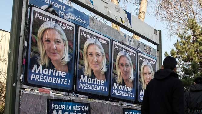 Front National FN Marine le Pen