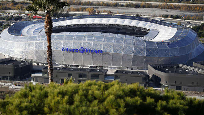 Die Allianz Riviera in Nizza.