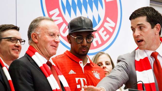 FC Bayern Munich at New York Stock Exchange