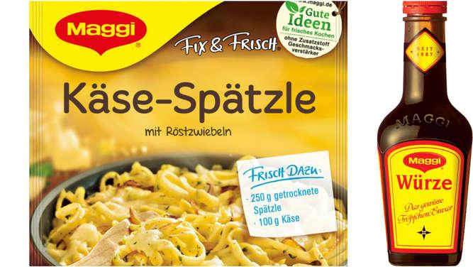 Nestlé reduziert Salzgehalt in Maggi-Produkten um 10%