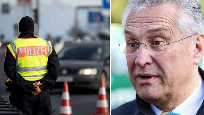 Tausende Aufgriffe an der Grenze zu Bayern