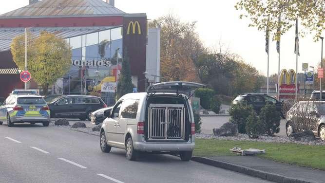 Bombendrohung! McDonalds in Freilassing geräumt