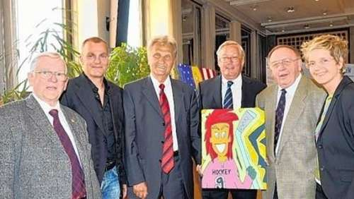 Mondi Hilger in der Hall of Fame