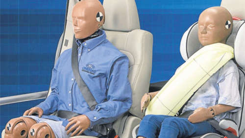 Ford: Gurt mit Airbag in Serie