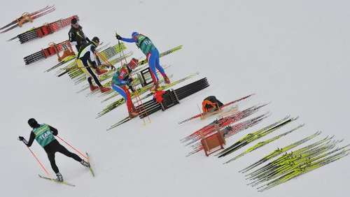 Biathlon in Ruhpolding: Tag 5
