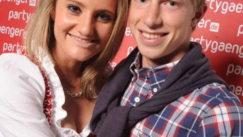Wiesn' Season - Partygaenger Fotowall am 21.09.2010