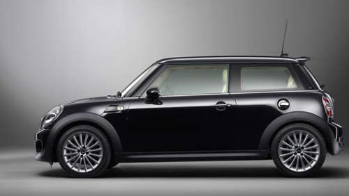 Mini im Rolls-Royce Look