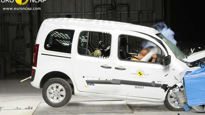 Mercedes Citan NCAP Crash-Test