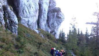 Pidinger Klettersteig : Piding münchnerin verirrt sich am pidinger klettersteig