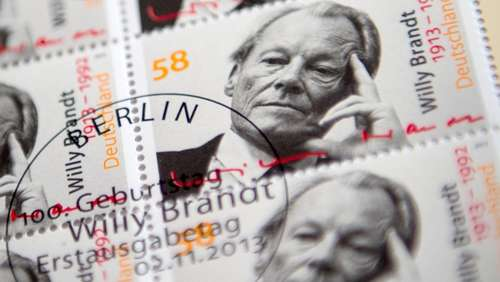 Willy Brandt für 58 Cent