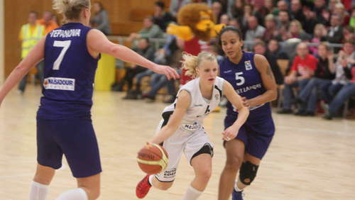 Basketball-Europacup in Wasserburg