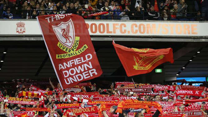 Liverpool, Fans, You&#39ll never walk alone