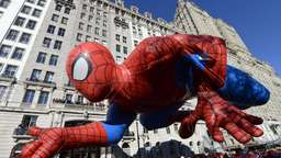 Bilder von der Thanksgiving-Parade in New York