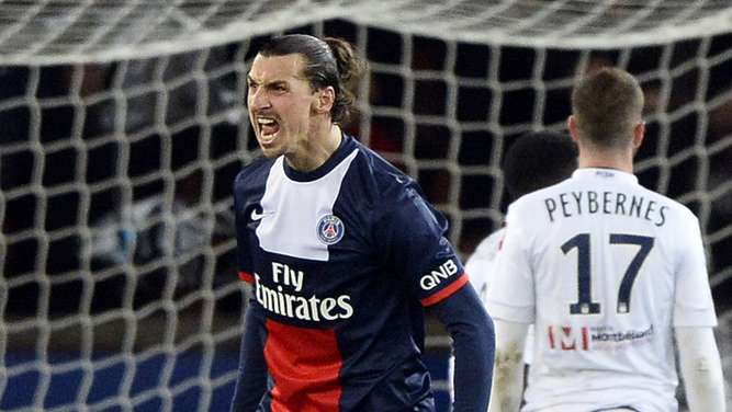 Zlatan Ibrahimovic, Paris St. Germain