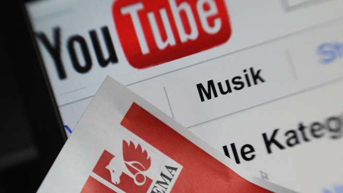 youtube, gema