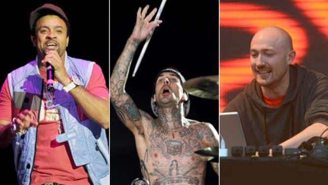 shaggy, blink-182, paul kalkbrenner