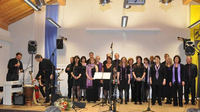 Der Gospelchor Modern Church