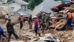 Unwetter in Japan: Mindestens 36 Tote
