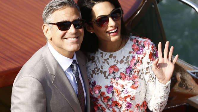 Ja-Wort in Venedig: George Clooney hat geheiratet