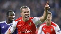 Real gewinnt in Liverpool - Podolski rettet Arsenal