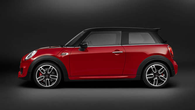 Mini John Cooper Works mit 231 PS