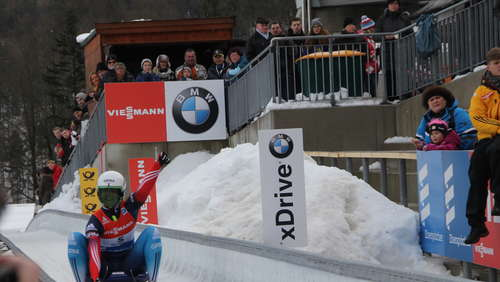 Rodel-Weltcup in Königssee