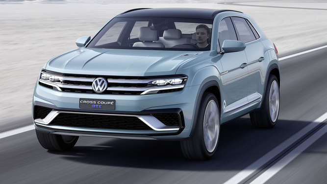 Weltpremiere! Das VW Cross Coupé GTE