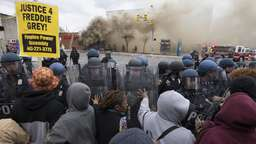 Randale und Chaos in Baltimore
