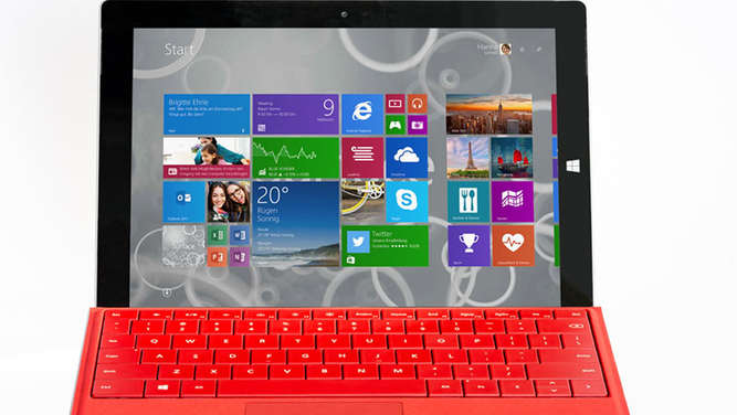 Surface 3, Microsoft