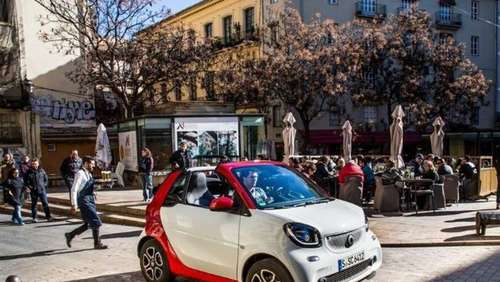 Smart Cabrio: Summer in the City