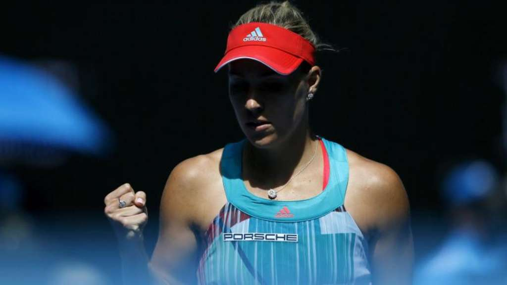 Angelique Kerber trifft im Finale der Australian Open auf Serena Williams. Foto: Made Nagi