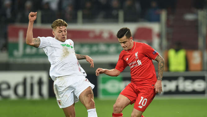 Europa League FC Augsburg FC Liverpool