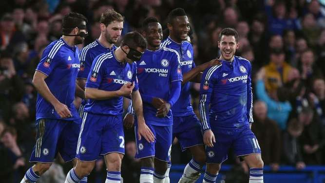 Chelsea fertigte Manchester City im FA-Cup mit 5:1 ab. Foto: Will Oliver
