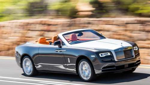 Rolls-Royce Dawn löst Phantom Drophead Coupé ab