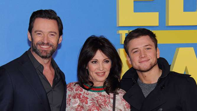 """Eddie the Eagle"": Hollywood-Star Hugh Jackman zu Gast in München"