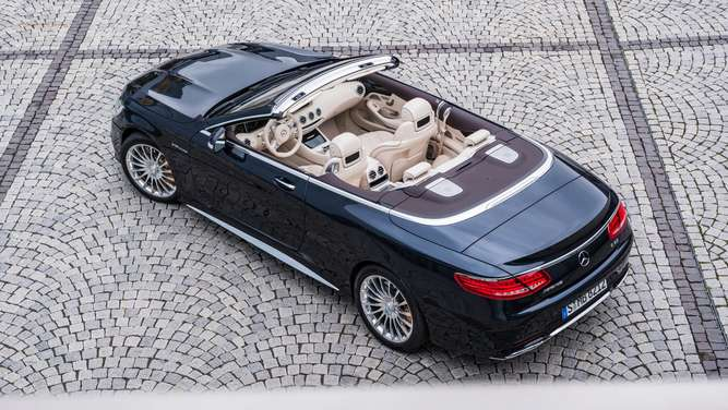 Mercedes S-Klasse Cabrio in der AMG-Version S 63 4 Matic.