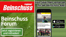 Up to date via Beinschuss-App und Beinschuss-Forum