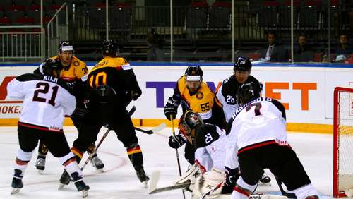 Eishockey-Team deklassiert Japan