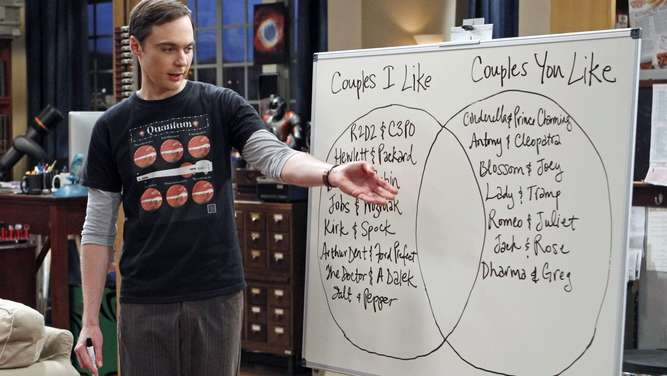 "ProSieben-Serie ""The Big Bang Theory"""