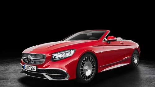 Maybach-Version der Mercedes S-Klasse kommt als Cabrio