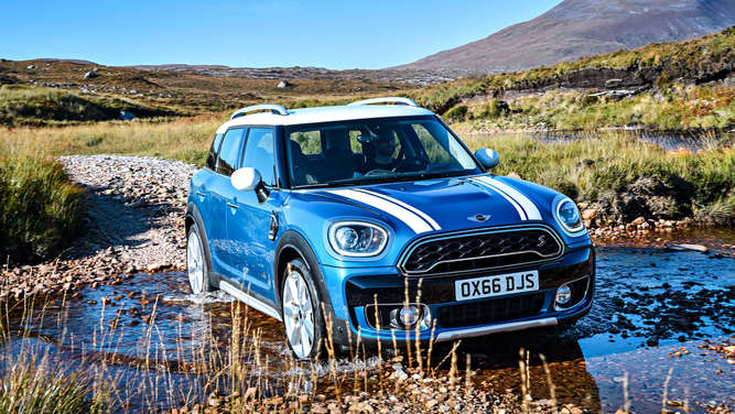 Mini Countryman (Symbolfoto).