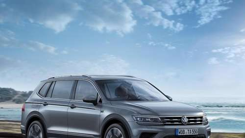 Allspace-Version des VW Tiguan startet im September