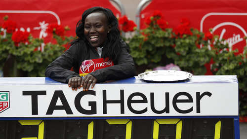 Marathon-Weltrekord: Keitanys Superlauf in London