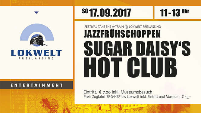 "Plakat ""Sugar Daisy&#39s Hot Club"""