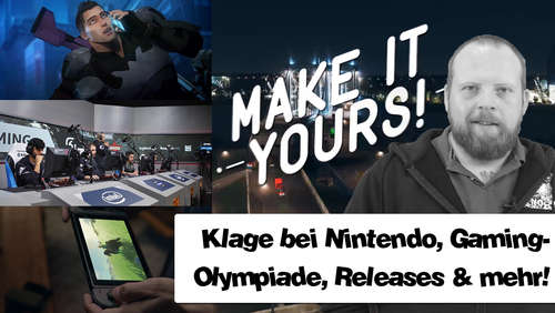 Klage gegen Nintendo oder E-Sports bei Olympia? Gaming News am 14.August