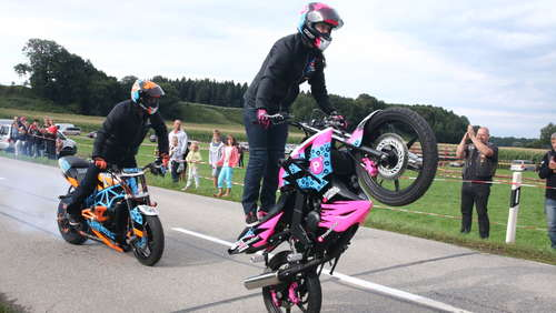 Stunts, Party und Bikes in Taufkirchen