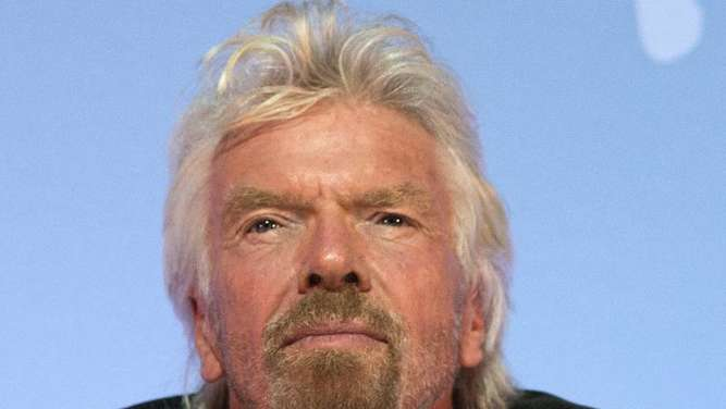 Richard Branson hat Hurrikan gut überstanden